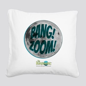The Honeymooners: Bang Zoom Square Canvas Pillow