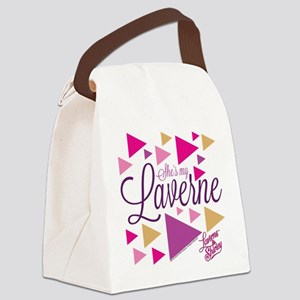 Laverne and Shirley: She's My Lav Canvas Lunch Bag