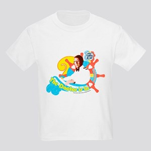 The Doctor is in Kids Light T-Shirt