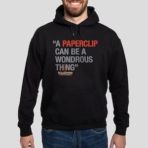 MacGyver: Paperclip Hoodie (dark)