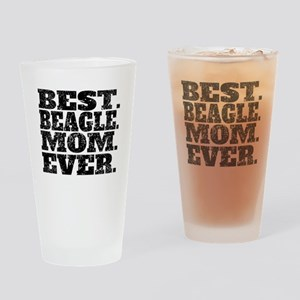 Best Beagle Mom Ever Drinking Glass