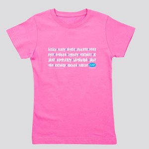 Melrose Place Names Girl's Tee