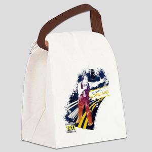 Taxi Louieland Canvas Lunch Bag