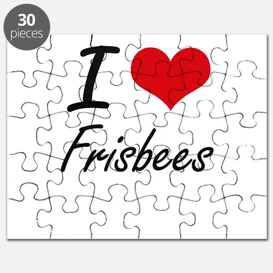 I love Frisbees Puzzle