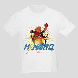 Ms. Marvel & Captain Marvel Kids Light T-Shirt