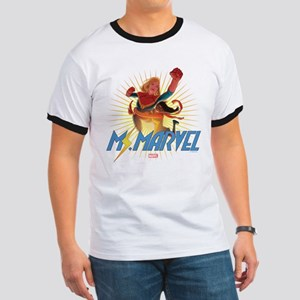 Ms. Marvel & Captain Marvel Ringer T