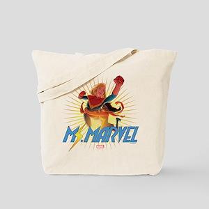 Ms. Marvel & Captain Marvel Tote Bag
