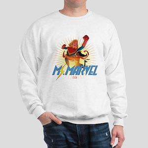 Ms. Marvel & Captain Marvel Sweatshirt