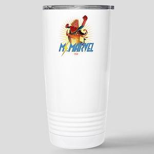Ms. Marvel & Captain Ma Stainless Steel Travel Mug