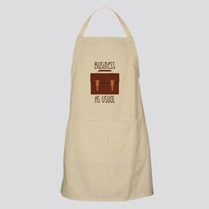 Business As Usual Apron