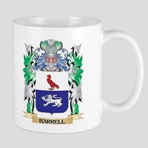 Barrell Coat of Arms - Family Crest Mugs