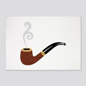 Tobacco Pipe 5'x7'Area Rug
