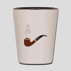 Tobacco Pipe Shot Glass