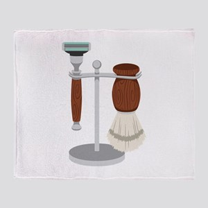 Shave Kit Throw Blanket