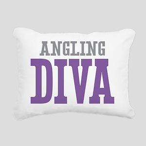 Angling DIVA Rectangular Canvas Pillow