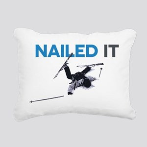 Nailed It Rectangular Canvas Pillow