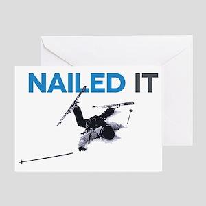 Nailed It Greeting Card