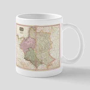 Vintage Map of Poland (1818) Mugs