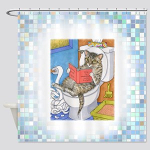 Cat 535 Shower Curtain
