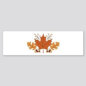 Autumn Leaves Bumper Sticker