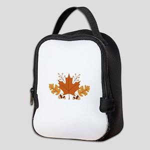 Autumn Leaves Neoprene Lunch Bag