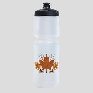 Autumn Leaves Sports Bottle