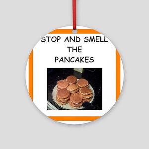 pancake Round Ornament