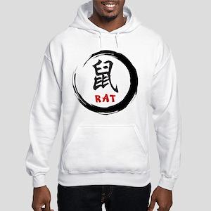 Zen Rat Hooded Sweatshirt