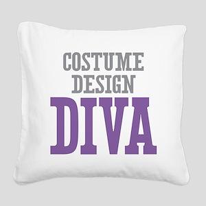 Costume Design DIVA Square Canvas Pillow