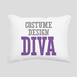 Costume Design DIVA Rectangular Canvas Pillow