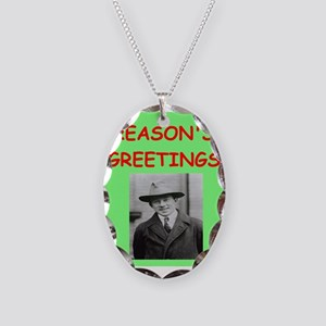 heisenberg Necklace Oval Charm