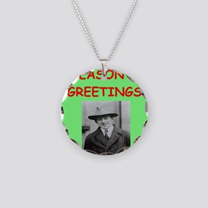 heisenberg Necklace Circle Charm
