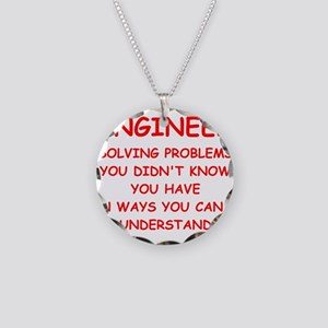 ENGINEER3 Necklace Circle Charm