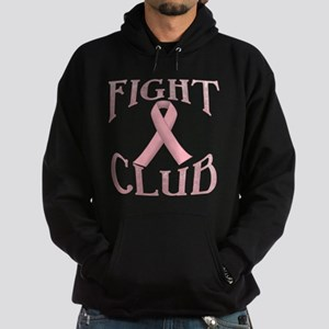 Fight Club with Pink Ribbon Hoodie (dark)