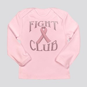 Fight Club with Pink Ri Long Sleeve Infant T-Shirt