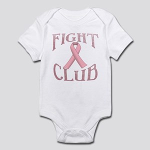 Fight Club with Pink Ribbon Infant Bodysuit