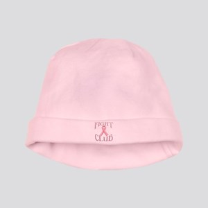 Fight Club with Pink Ribbon baby hat