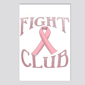 Fight Club with Pink Ribb Postcards (Package of 8)