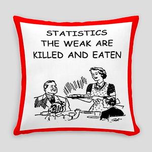 statistics Everyday Pillow