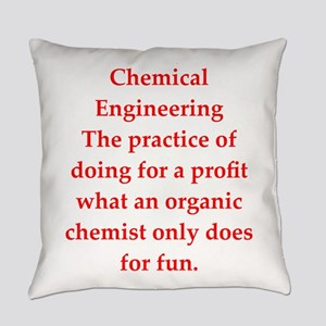 chemistry joke Everyday Pillow
