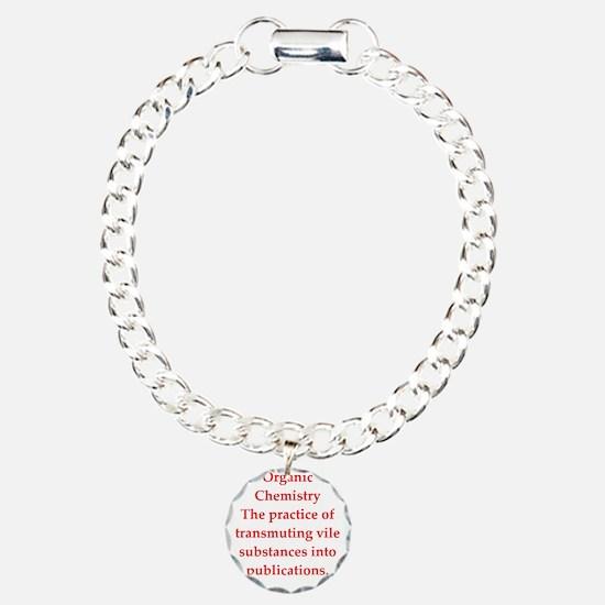 chemistry joke Bracelet