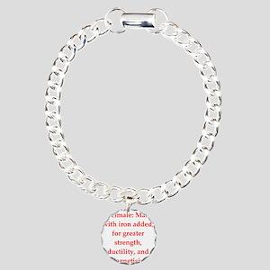9.png Charm Bracelet, One Charm