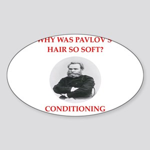 pavlov Sticker (Oval)
