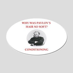 Pavlov 20x12 Oval Wall Decal