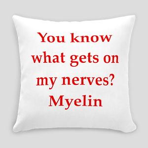 nerves Everyday Pillow