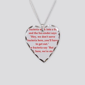 42 Necklace Heart Charm
