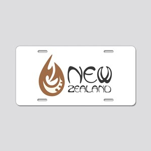 New Zealand Aluminum License Plate