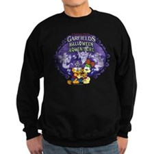 garfields halloween adventure logo sweatshirt