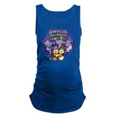 Garfield's Halloween Adventure Logo Maternity Tank