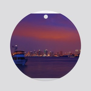 San Diego gifts and t-shirts Round Ornament